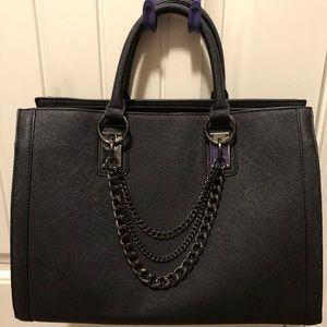 Black JustFab Handbag